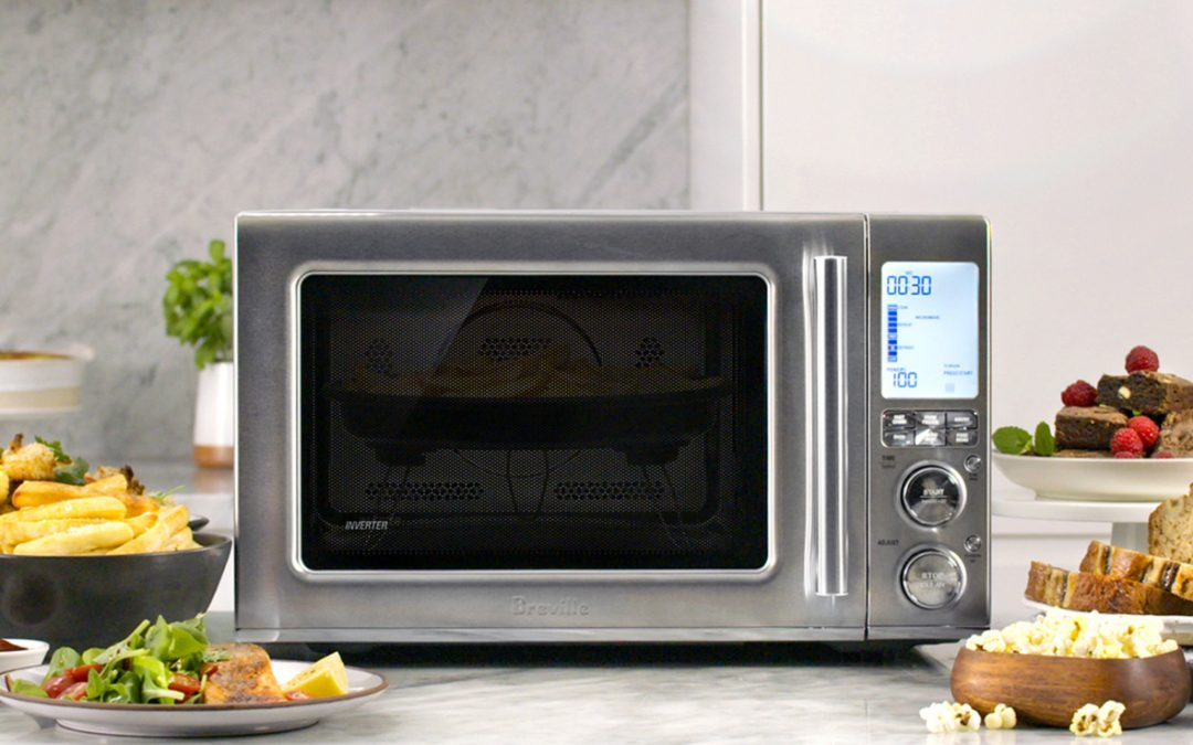 Make Cooking More Fun with the NEW Breville Combi Wave 3-in-1 Microwave